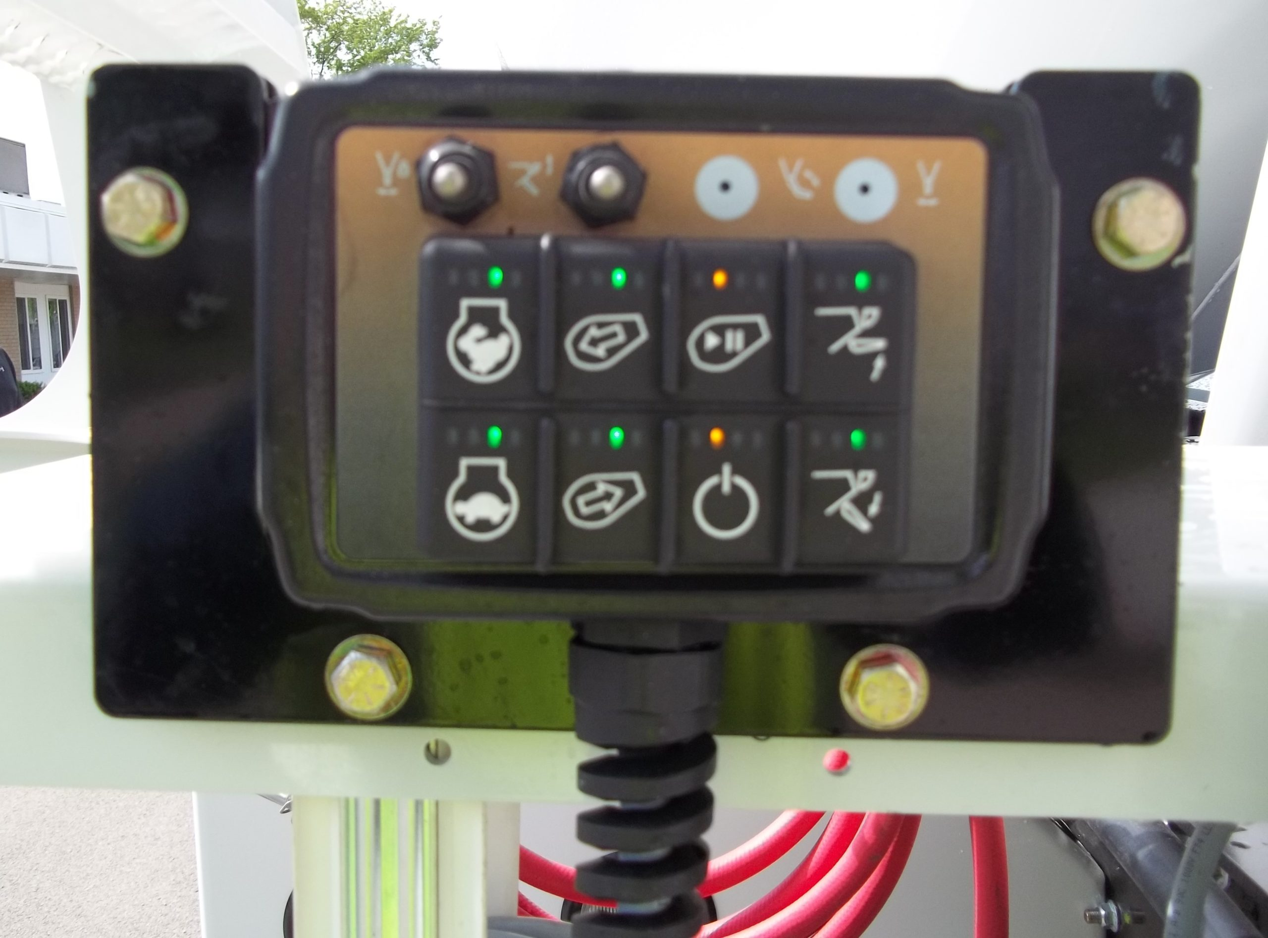 Rear Pendant Controls